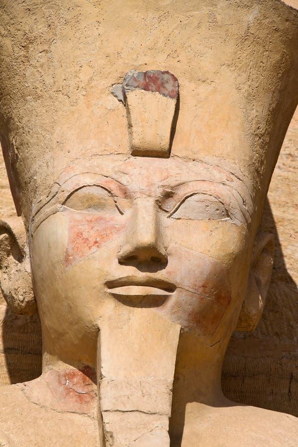 西部埃及的thebes 免版税库存照片