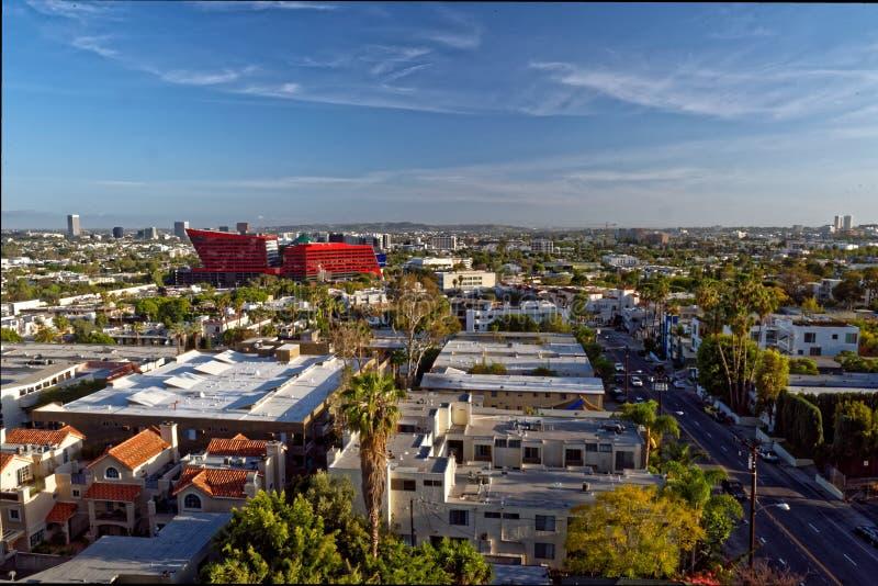 西部好莱坞在洛杉矶 图库摄影