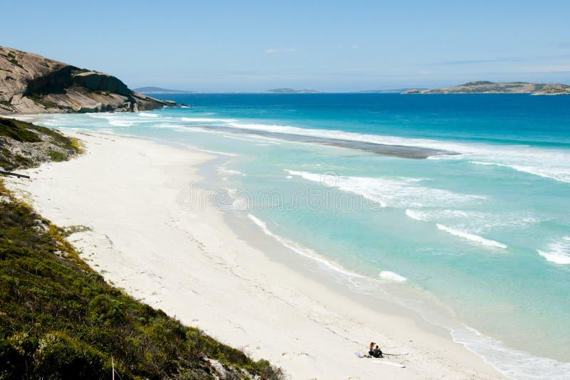 西部海滩-埃斯佩兰斯-澳大利亚 库存照片