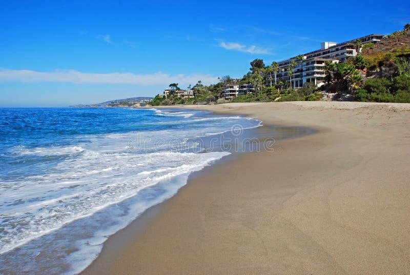 西部海滩,南拉古纳海滩,加利福尼亚 库存照片