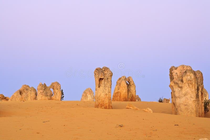 西部澳洲的石峰 库存图片