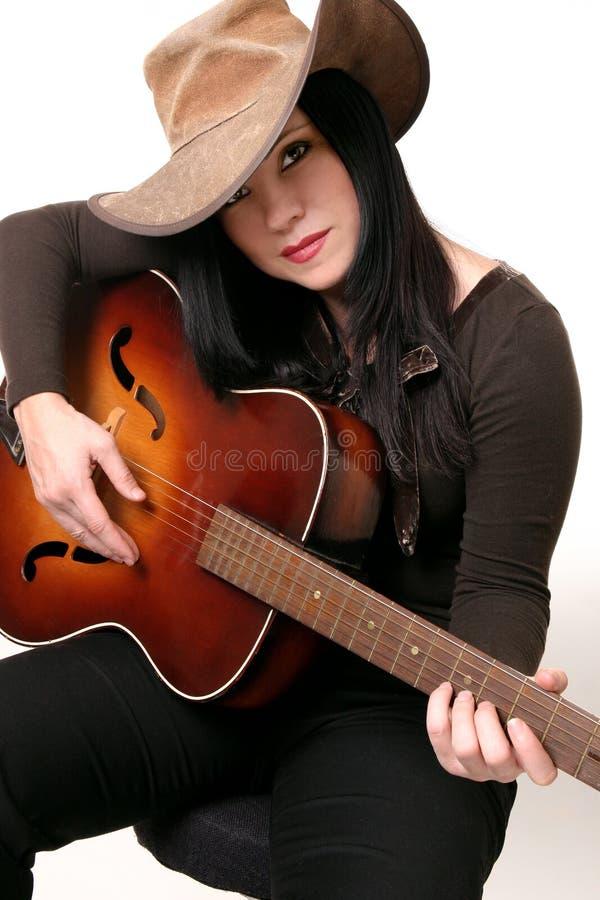西部的乡村音乐 图库摄影