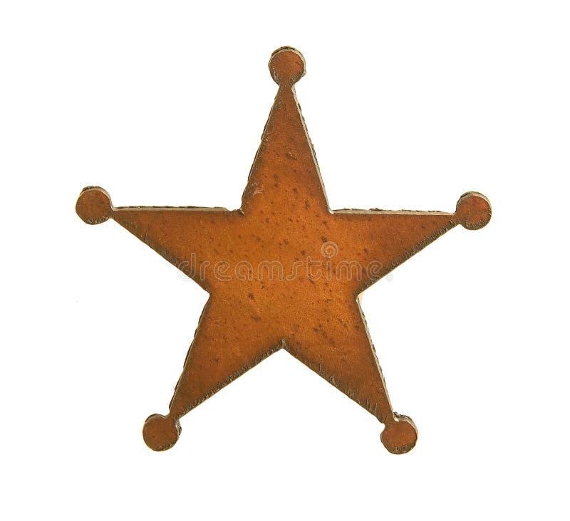 西部的星形 库存图片