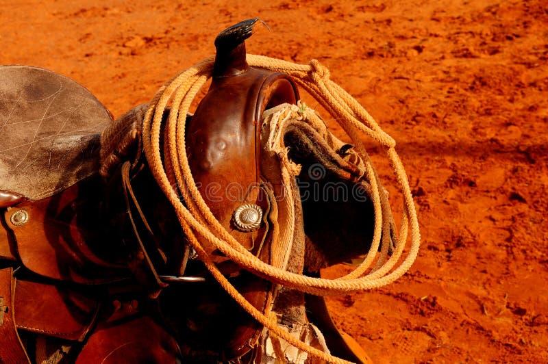 西部的马鞍 库存照片
