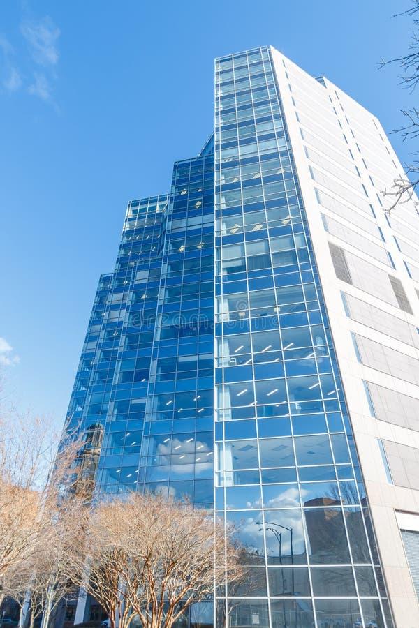500西部第五个大厦在温斯顿萨兰姆 免版税图库摄影
