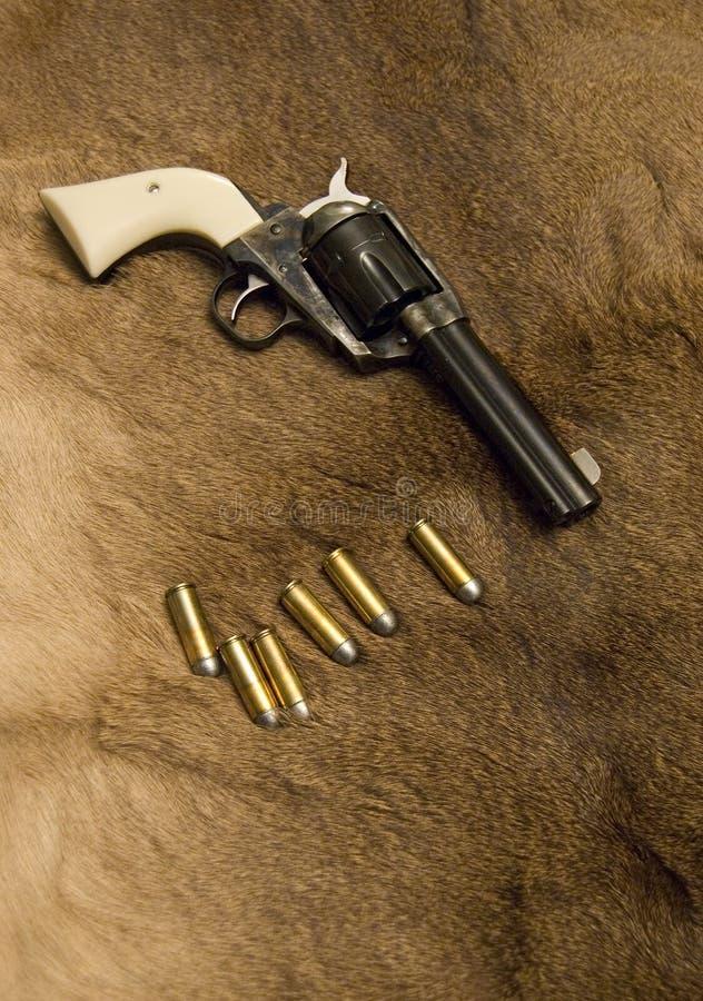 西部老的左轮手枪 免版税图库摄影
