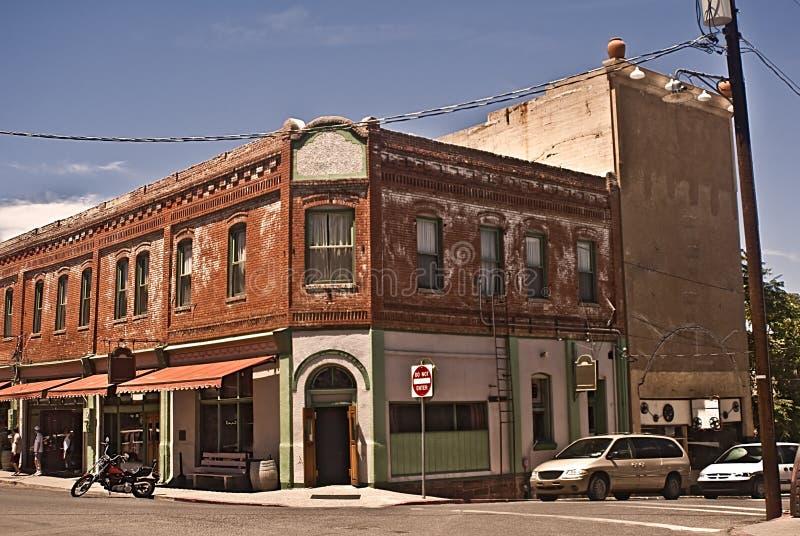 西部老的街道 免版税图库摄影