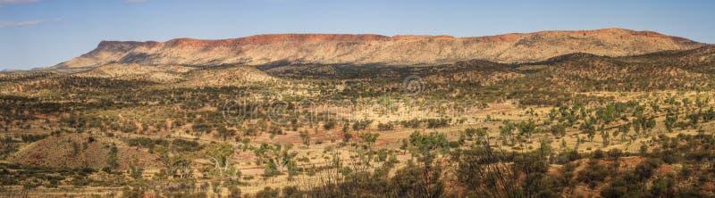 西部麦道范围fron桂皮小山的全景,北方领土,澳大利亚 免版税库存图片