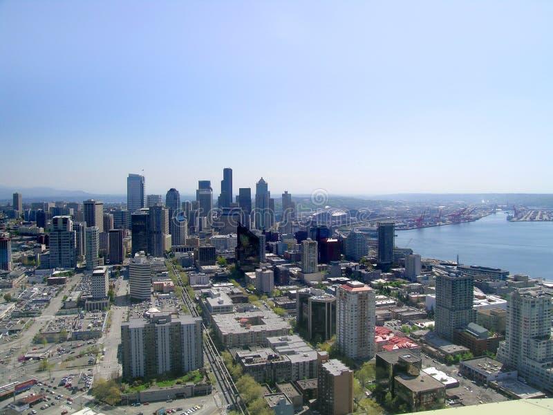 西雅图地平线 库存图片