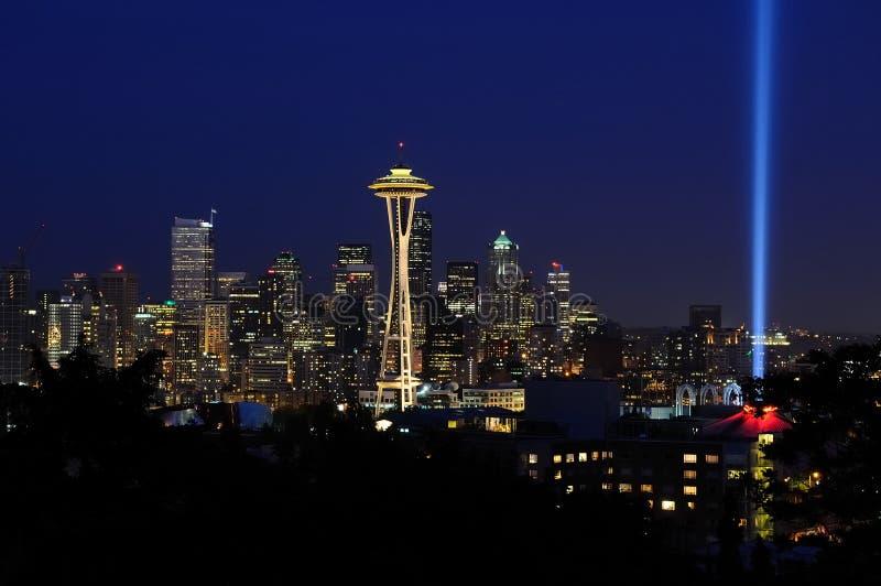 西雅图地平线 免版税库存照片