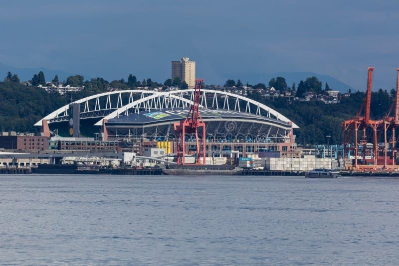西雅图海鹰体育场 免版税库存图片