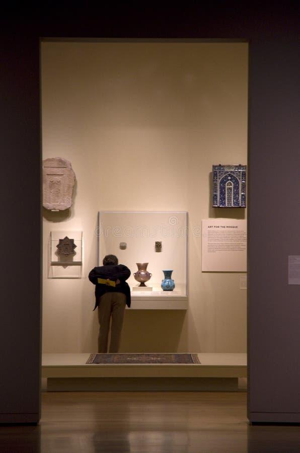 西雅图艺术博物馆内部 库存图片