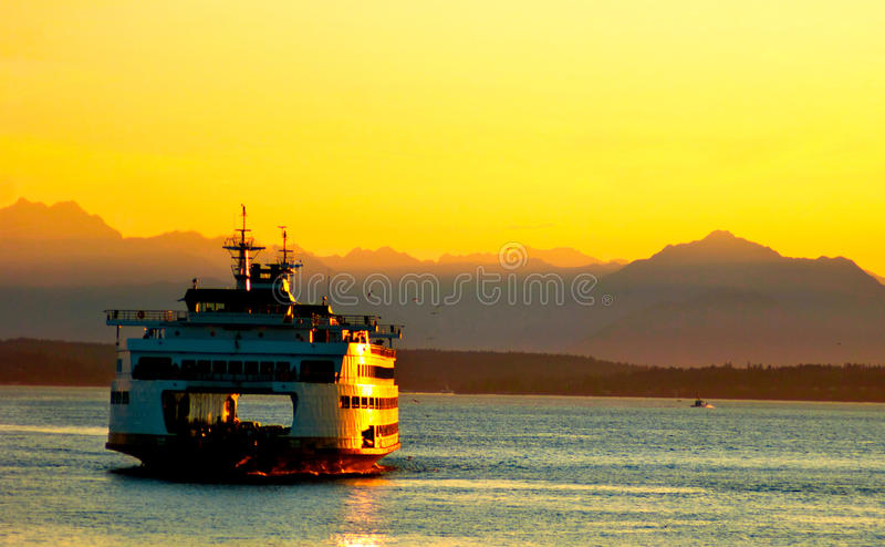 西雅图运输 图库摄影