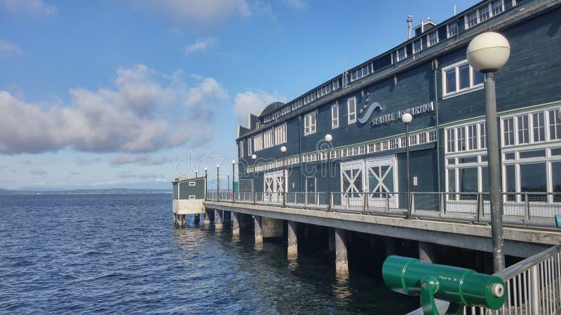 西雅图水族馆 免版税库存照片