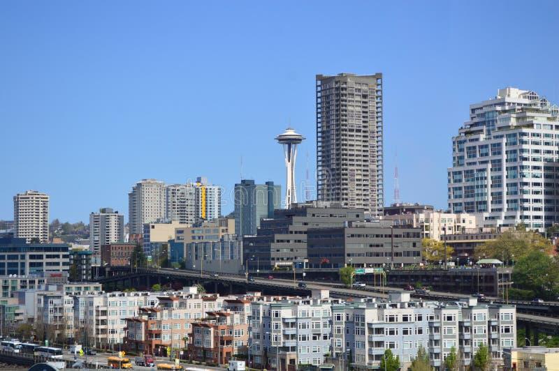 西雅图Skyscrapper 库存照片