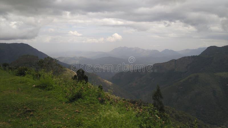 西高止山脉 图库摄影
