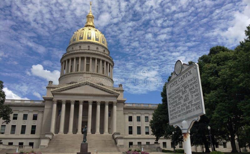 西维吉尼亚国会大厦 库存图片