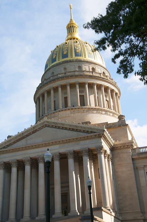 西维吉尼亚州议会议场在查尔斯顿西维吉尼亚美国 免版税图库摄影