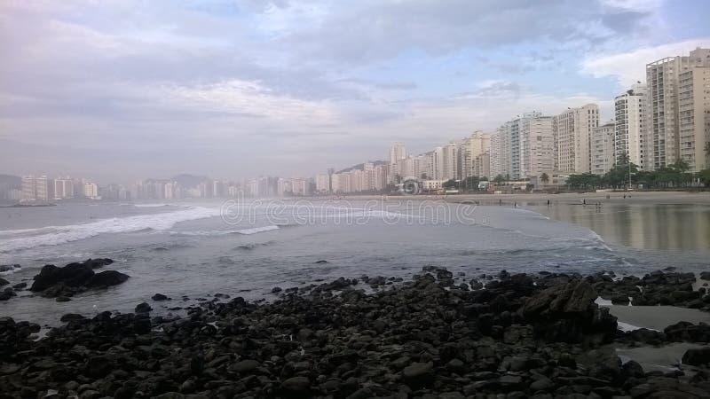 巴西- Guarujà ¡ -秘密点 免版税库存图片