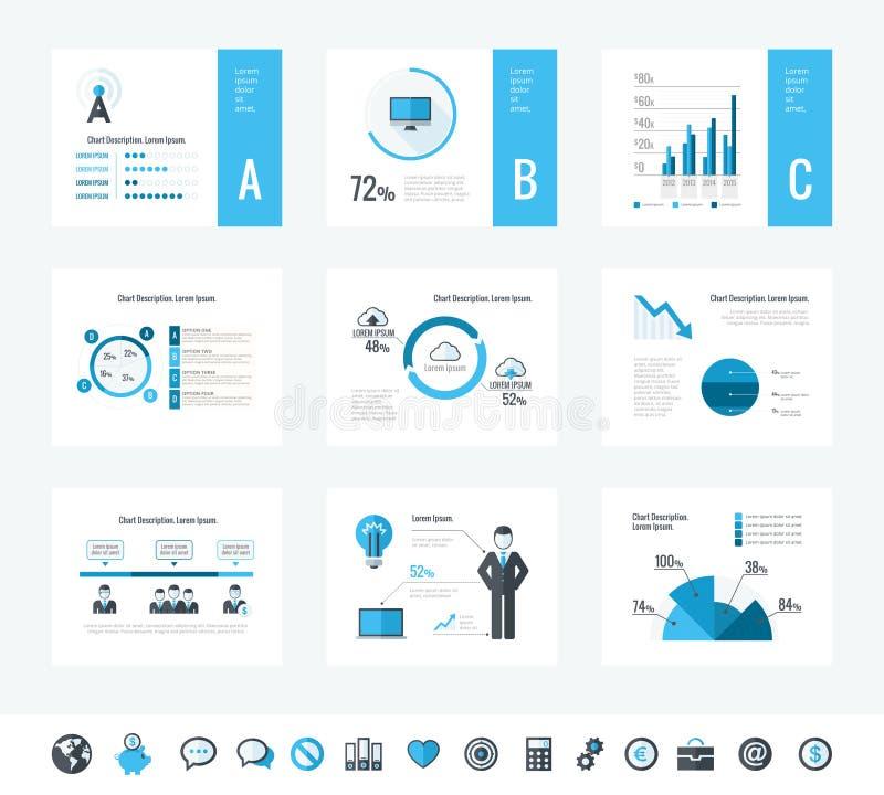 要素infographic技术 向量例证