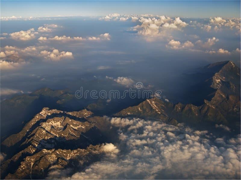 覆盖山计划 库存图片