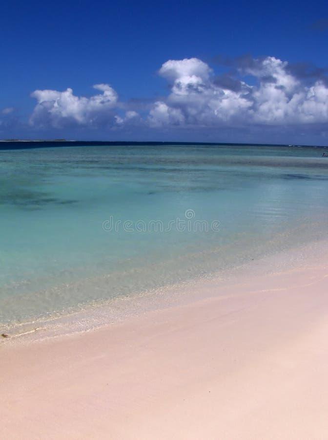 覆盖海岛下 库存图片
