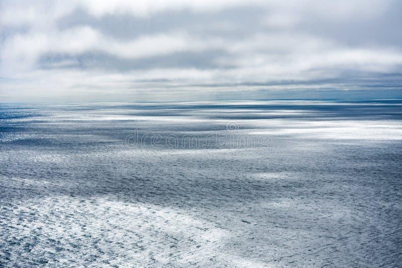 覆盖海洋 库存图片
