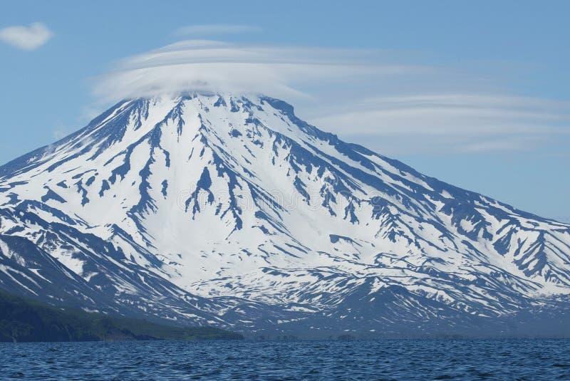 覆盖火山 库存图片