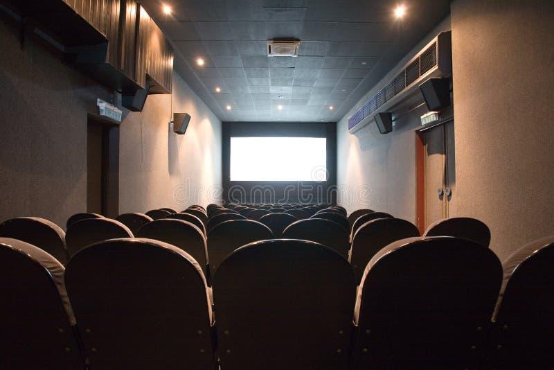观众席戏院空小 图库摄影