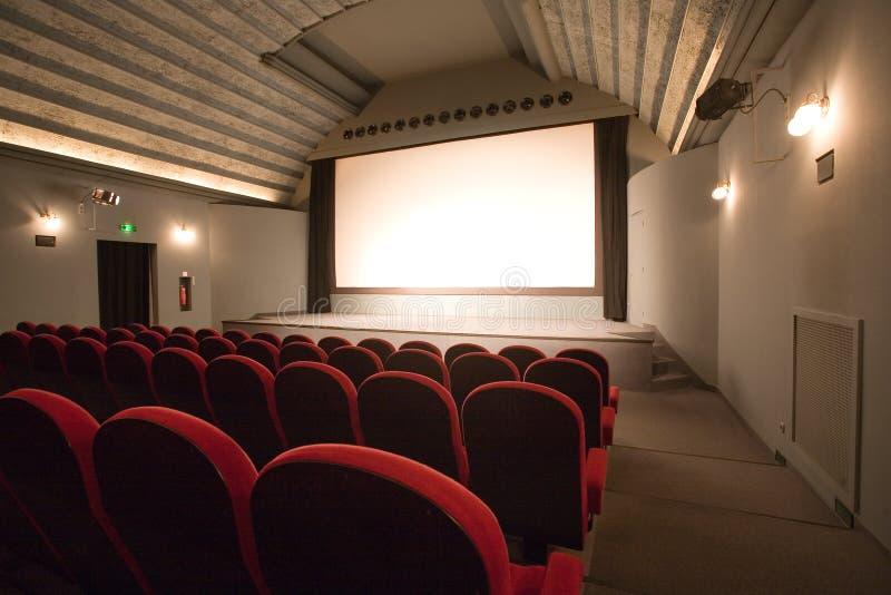 观众席戏院空小 免版税图库摄影