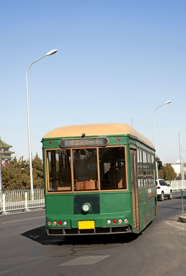 观光的公共汽车 免版税图库摄影