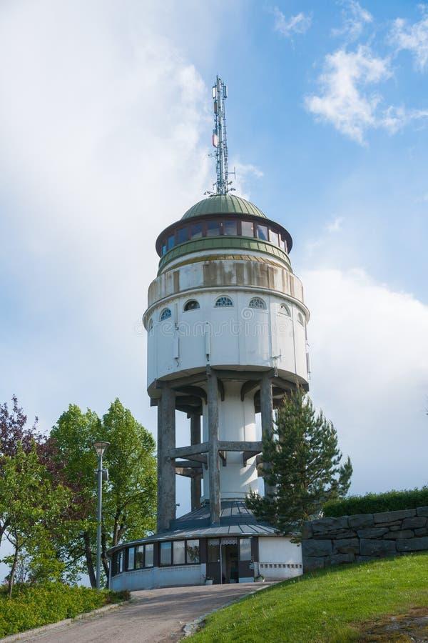 观测塔` Naisvuori ` Mikkeli,芬兰 库存图片