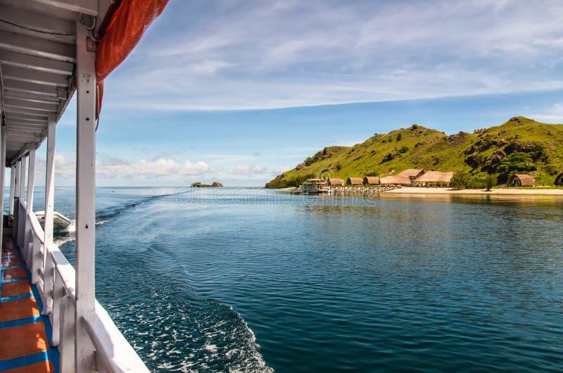 观点的一个小组海岛 免版税库存照片