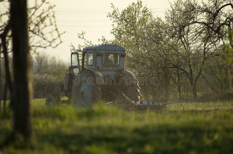 规则农活回来感觉 库存图片