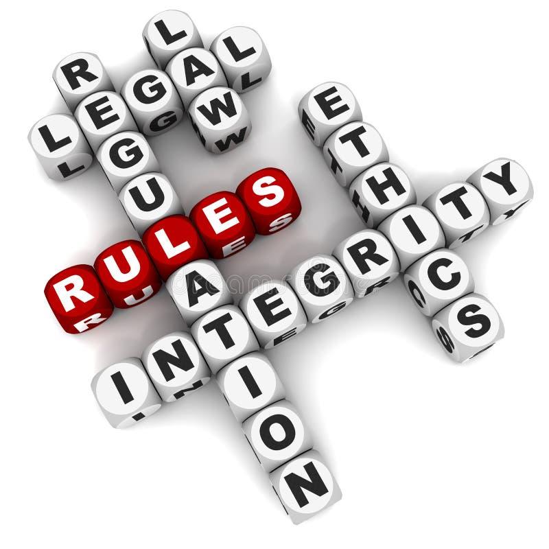 规则 向量例证