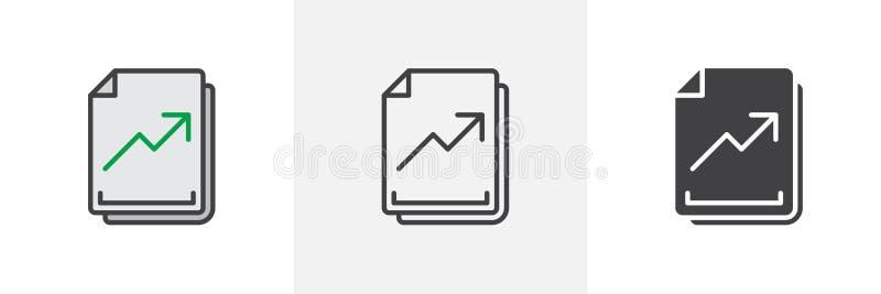 规定值文件象 库存例证