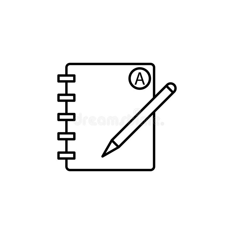 规定值象日志  网象的元素流动的概念的 库存例证