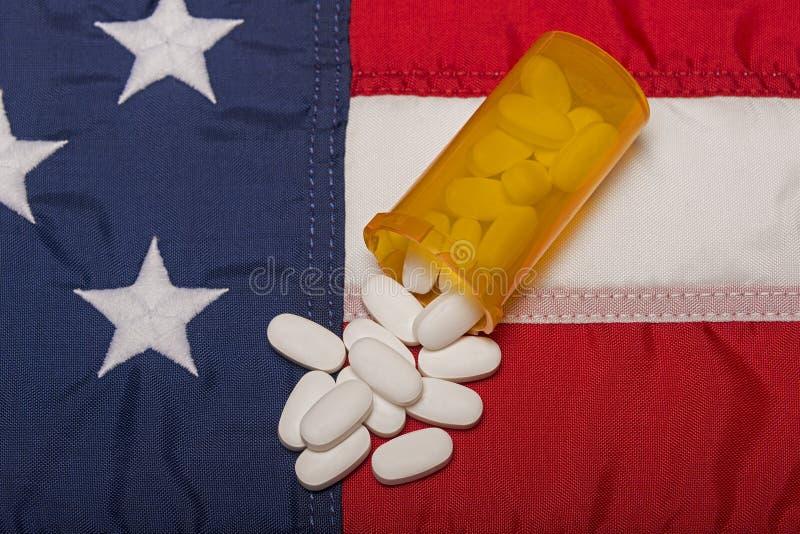 规定医学在美国 免版税库存照片