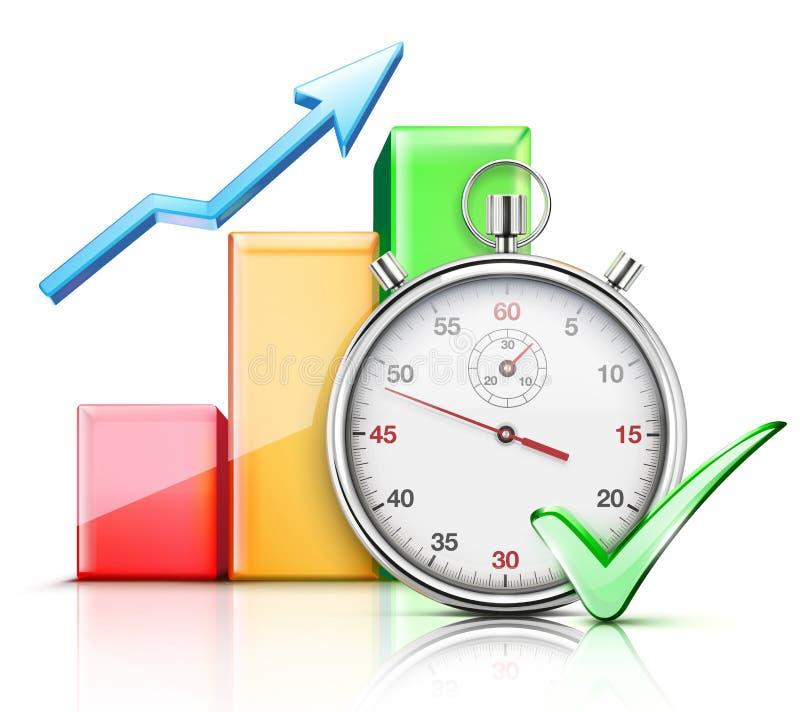 规定期限概念 向量例证