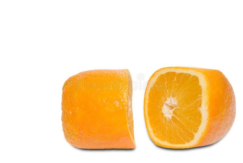 规定桔子药片 库存图片