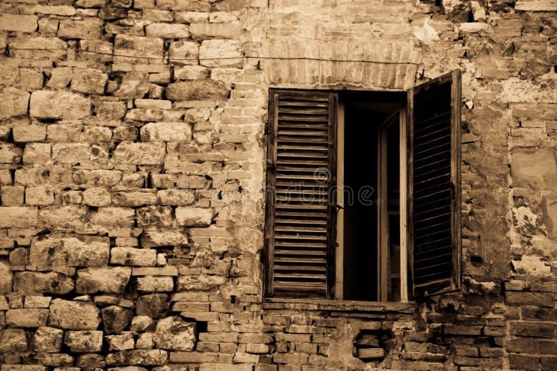 视窗的佩鲁贾 库存图片