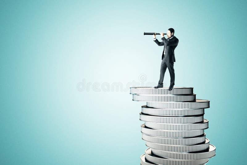 视觉和富有的概念 免版税图库摄影