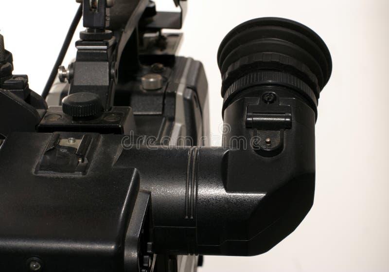 视频反光镜 图库摄影