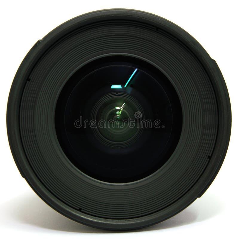 角度宽摄象机镜头 免版税库存照片