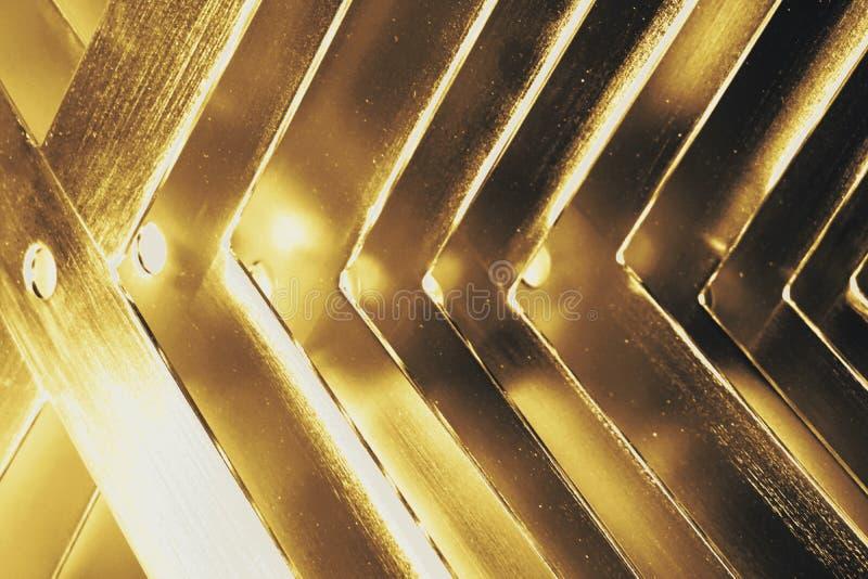 角度金属纹理 库存照片