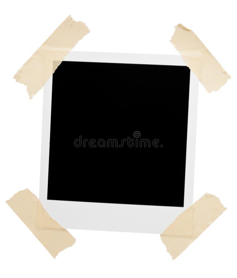 角落倒空录制的框架照片 库存照片