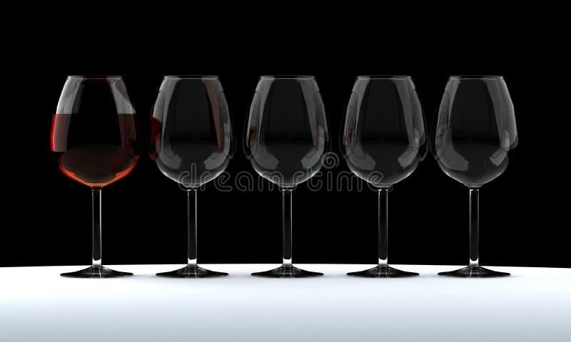 觚酒 免版税库存图片