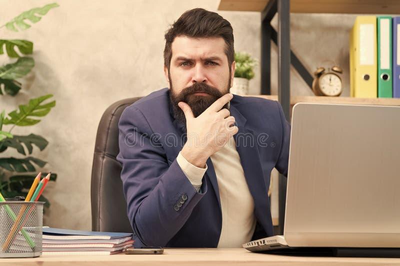 解决业务问题的经理 负责企业解答的商人 开发的经营战略 ?? 库存照片