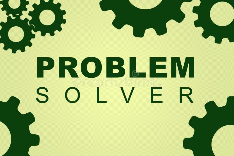 解决问题者概念 向量例证