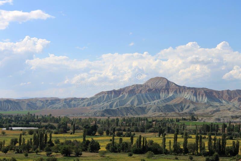 解决Nalihan地方安卡拉土耳其,自然保护 图库摄影